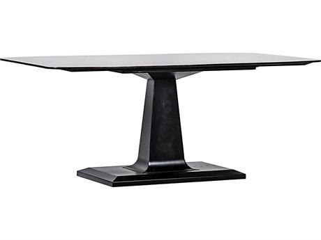Noir Furniture Dark Walnut 72'' Wide Rectangular Dining Table