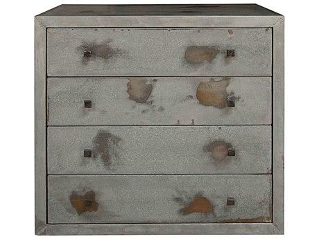 Noir Furniture Hand Rubbed Black 34'' Wide Rectangular End Table