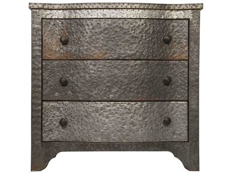 Noir Furniture Weathered 30'' Wide Rectangular End Table