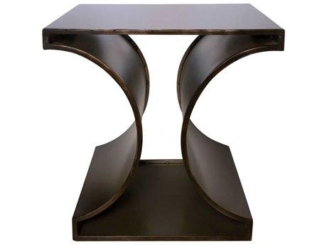 Noir Furniture Pale 23'' Wide Square End Table