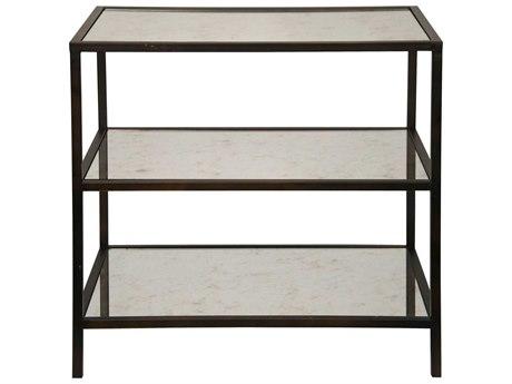 Noir Furniture Washed Walnut 30'' Wide Rectangular End Table