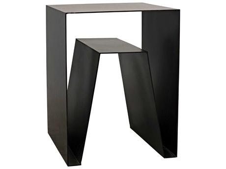 Noir Furniture Old Wood 19'' Wide Rectangular End Table