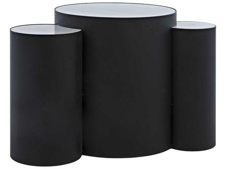 Noir Furniture Matte Black 31'' Wide End Table
