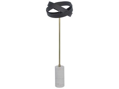 Noir Furniture Matte Black Floor Lamp NOILAMP733MTB
