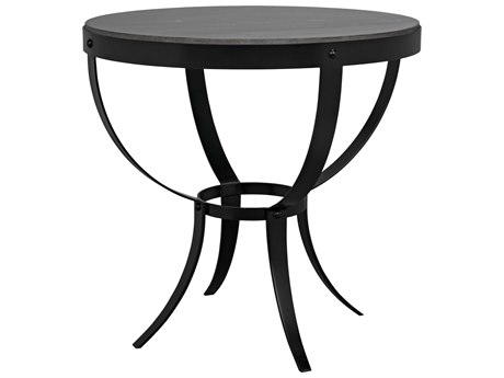 Noir Furniture 30'' Wide Round Foyer Table NOIGTAB286ML