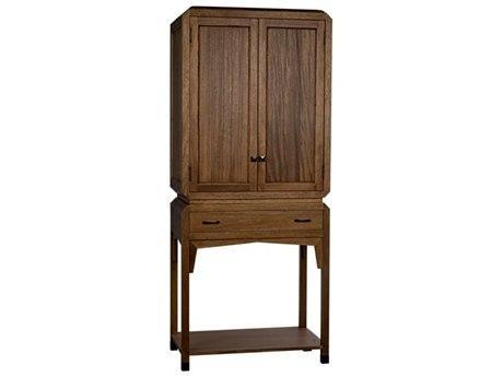 Noir Furniture Dark Walnut Jewelry Armoire NOIGHUT141DW