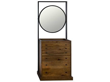 Noir Furniture Dark Walnut Jewelry Armoire NOIGHUT142DW