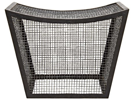 Noir Furniture Cage Metal Stool NOIGSTOOL147MT