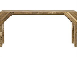 Akira Teak 64'' x 17'' Rectangular Console Table