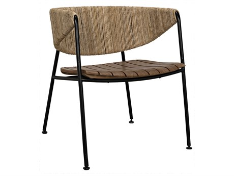 Noir Furniture Helena Rush Sea Grass Accent Chair