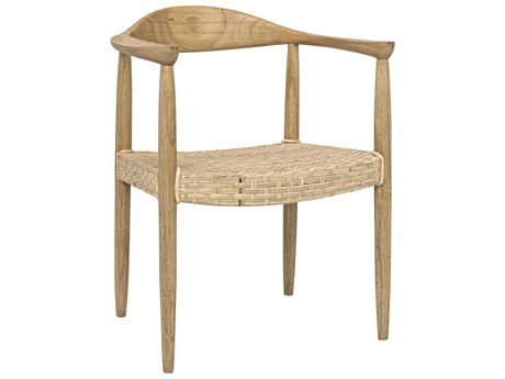 Noir Furniture Kiefer Woven Rattan Accent Chair