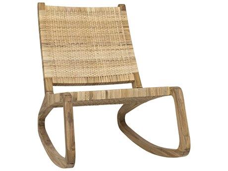 Noir Furniture Las Palmas Peeled Rattan Accent Chair