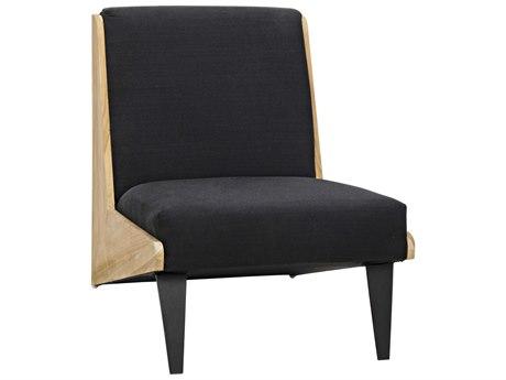 Noir Furniture Matthew Black Accent Chair