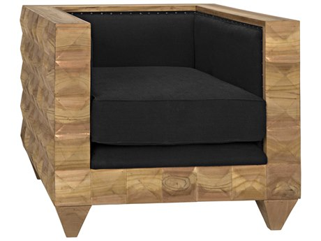 Noir Furniture Pike Black Accent Chair