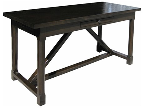 Noir Furniture Sutton Distressed Brown 60'' x 26'' Secretary Desk