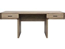 Degas Washed Walnut 76'' x 32'' Secretary Desk