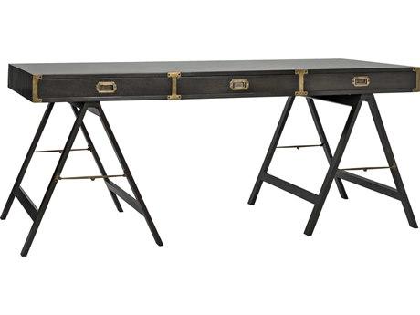 Noir Furniture Campaign Pale 70'' x 32'' Secretary Desk