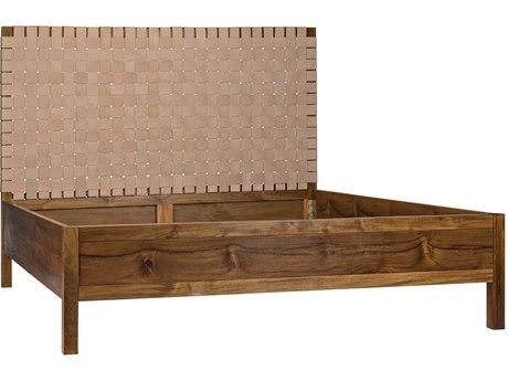 Noir Furniture King Panel Bed NOIGBED131EKT