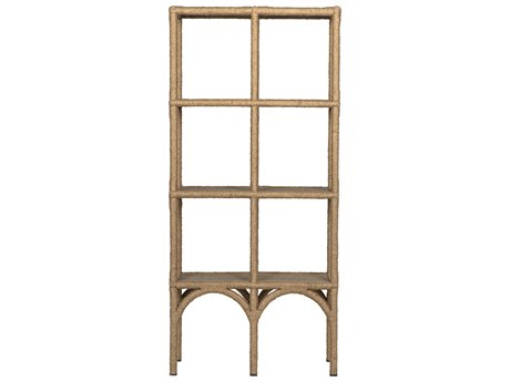 Noir Furniture Rope Etagere Bookshelf NOIGBCS123