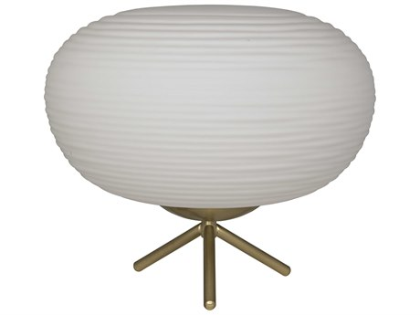 Noir Furniture Antique Brass One-Light Table Lamp