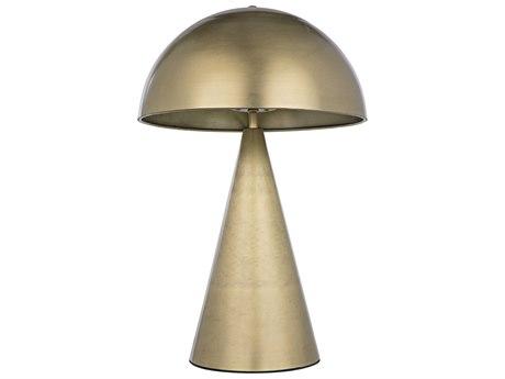 Noir Furniture Antique Brass Table Lamp NOILAMP718MB