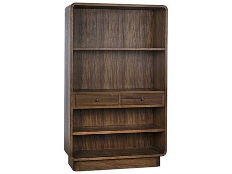 Noir Furniture Dark Walnut Bookcase