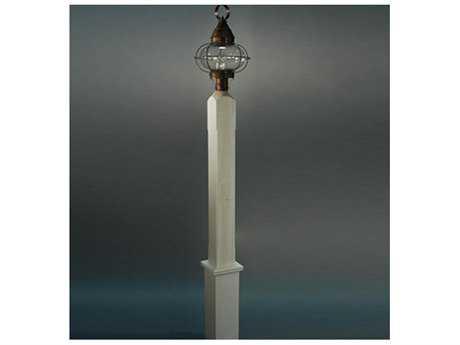 Northeast Lantern Primed White Cedar Post with White Cedar Sleeve NLP104