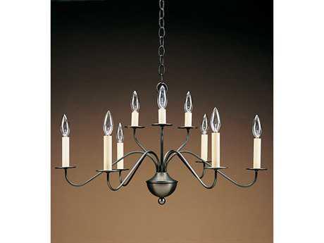 Northeast Lantern Nine-Light 28'' Wide Chandelier