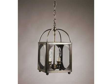 Northeast Lantern Chandelier Two-Light 8'' Wide Pendant Light NL6812R