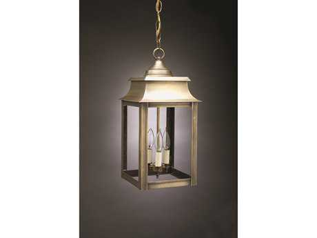 Northeast Lantern Concord Three-Light Outdoor Hanging Light