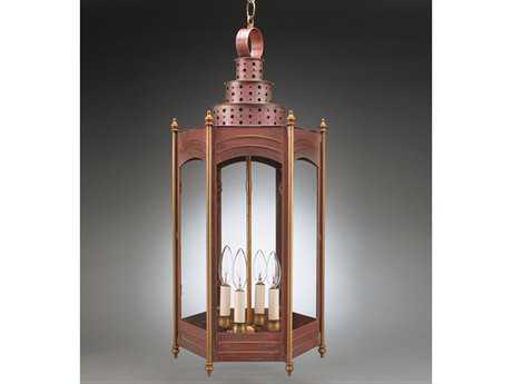 Northeast Lantern Fillmore Four-Light Outdoor Hanging Light NL3172