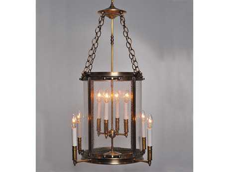 Northeast Lantern Foyer Eight-Light 21'' Wide Pendant Light NL3582