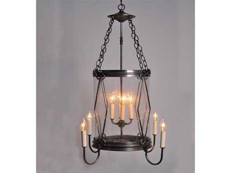 Northeast Lantern Foyer Eight-Light 23.5'' Wide Pendant Light NL3592