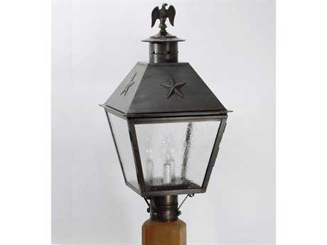 Northeast Lantern Independence Three-Light Outdoor Post Light NL7933