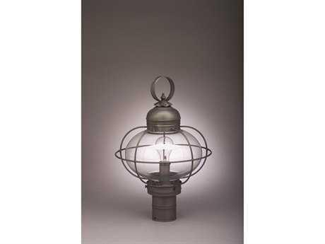 Northeast Lantern Onion Outdoor Post Light NL2543G