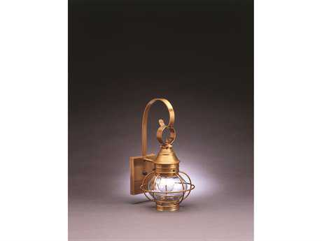 Northeast Lantern Onion Outdoor Wall Light NL2511