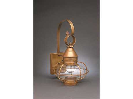 Northeast Lantern Onion Outdoor Wall Light NL2521