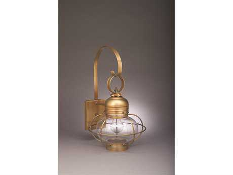 Northeast Lantern Onion Outdoor Wall Light NL2531G