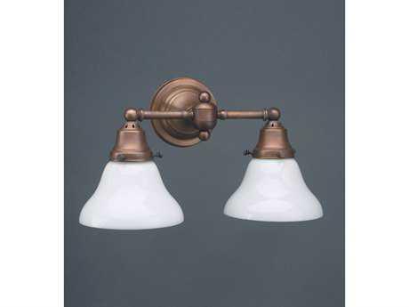 Northeast Lantern Shade Two-Light Wall Sconce NL225