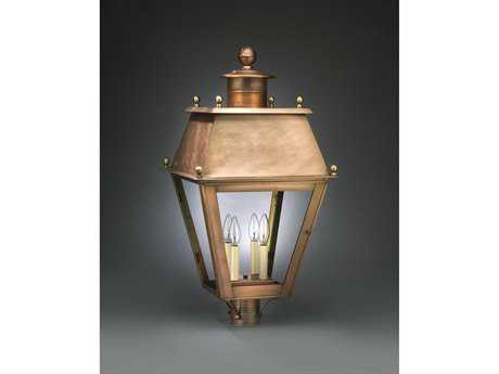 Northeast Lantern Stanfield Four-Light Outdoor Post Light NL7553