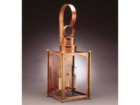 Northeast Lantern Midtown Three-Light Outdoor Wall Light NL5251