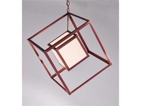 Northeast Lantern Tesseract 14'' Wide Pendant Light NLCC147