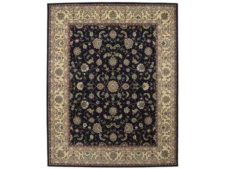 Nourison 2000 Rectangular Navy Area Rug