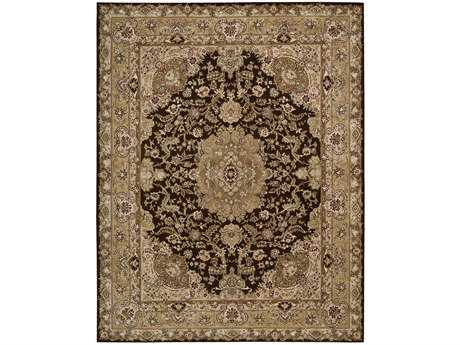 Nourison 2000 Rectangular Chocolate Area Rug