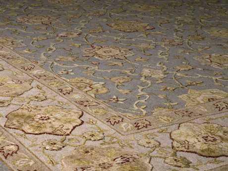 Nourison 3000 Rectangular Aqua Area Rug