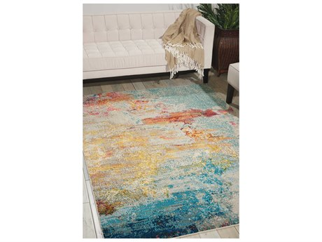 Nourison Celestial Sealife Area Rug NRCES02SEALF