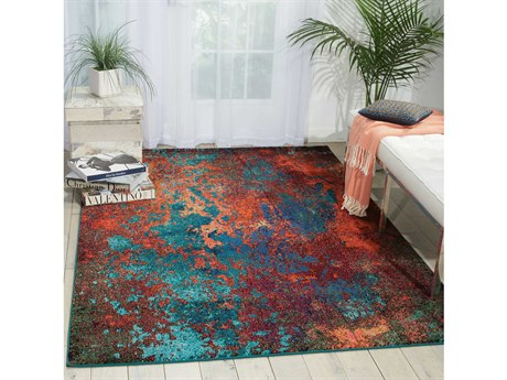 Nourison Celestial Atlantic Rectangular Area Rug