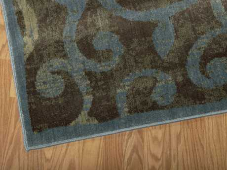 Nourison Expressions Runner Brown Area Rug