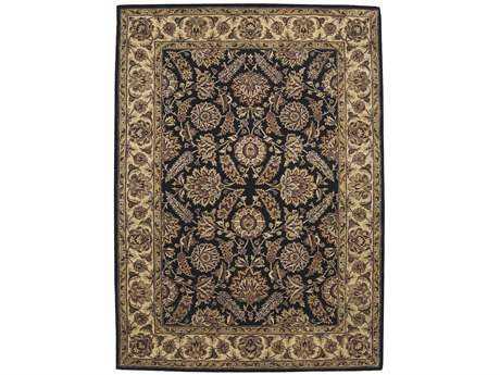 Nourison Jaipur Rectangular Black Area Rug