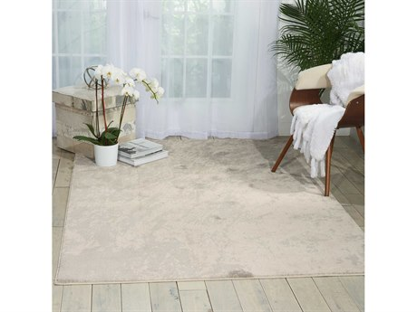 Nourison Maxell Ivory Grey Rectangular Area Rug